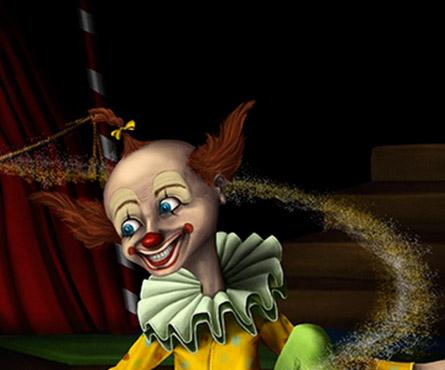 Le clown et la fée Craquette