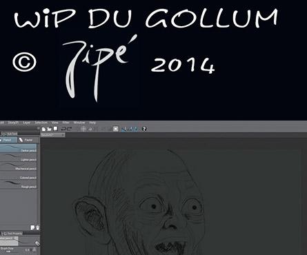 Wip du Gollum