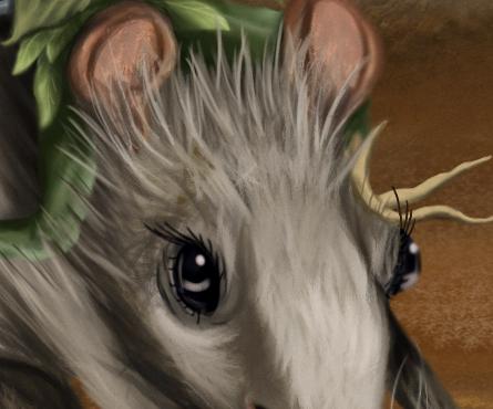 Choupinette et le rat ...