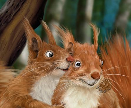 Amour d'écureuils